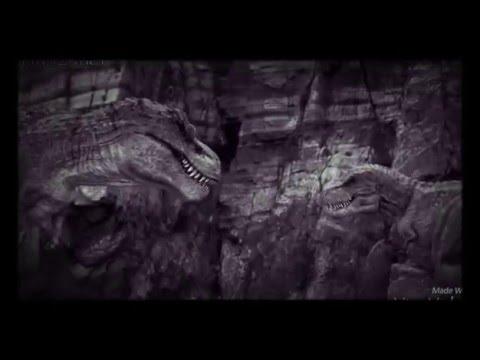 Speckles the tarbosaurus angel of darkness