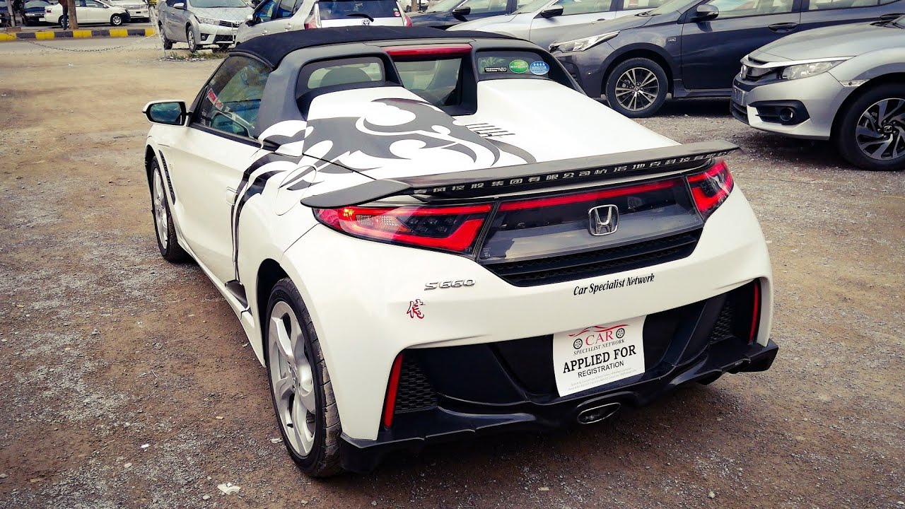 Honda S660 Turbo In Depth Review Best Budget Convertible Car In Pakistan Youtube