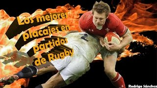 Los mejores placajes en partidos de rugby