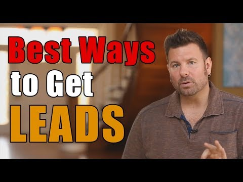 What are the Best Ways to Generate Leads? - Discover the Only 2 Ways to Generate Leads