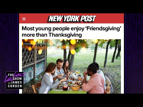 This Thanksgiving, It's All About Friendsgiving