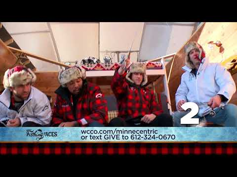WCCO Fishing For Aces - MN Wild