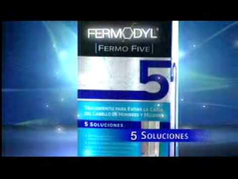 Tratamiento fermodyl para caida de cabello
