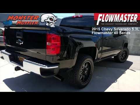 2015 Chevy SIlverado 5.3L - Flowmaster Exhaust