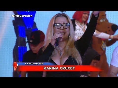 Karina Crucet en Pasión de sábado 15 9 2018