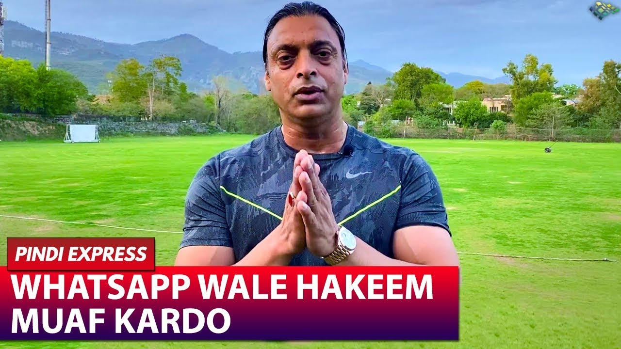 Whatsapp Hakeems are a Pain | From Onwards Leave Junk Food Aside | Shoaib Akhtar