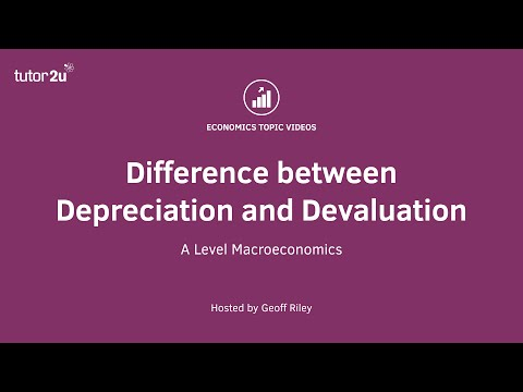 Difference between Depreciation and Devaluation