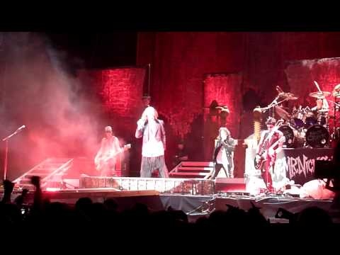 Arthur Brown and Alice Cooper Fire at Alexandra Palace London 2011