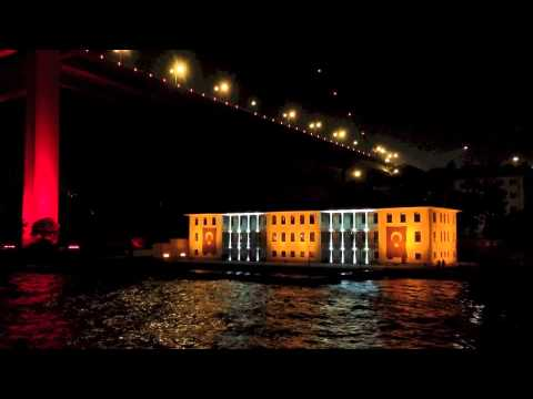 Night Cruise at Bosphorus
