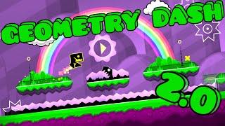 gd 2 0 tutorial descarga d ll geometry dash 2 0 ll geometry dominator ll level 19 ll by robtop