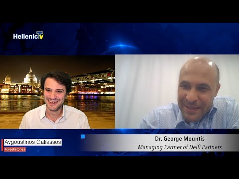 #GreekStories Augoustinos Galiassos Dr. George Mountis Managing Partner Delfi Partners & Co S3 E30