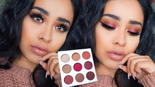 Kylie Cosmetics Burgundy Palette   Fall Makeup 2016 Tutorial