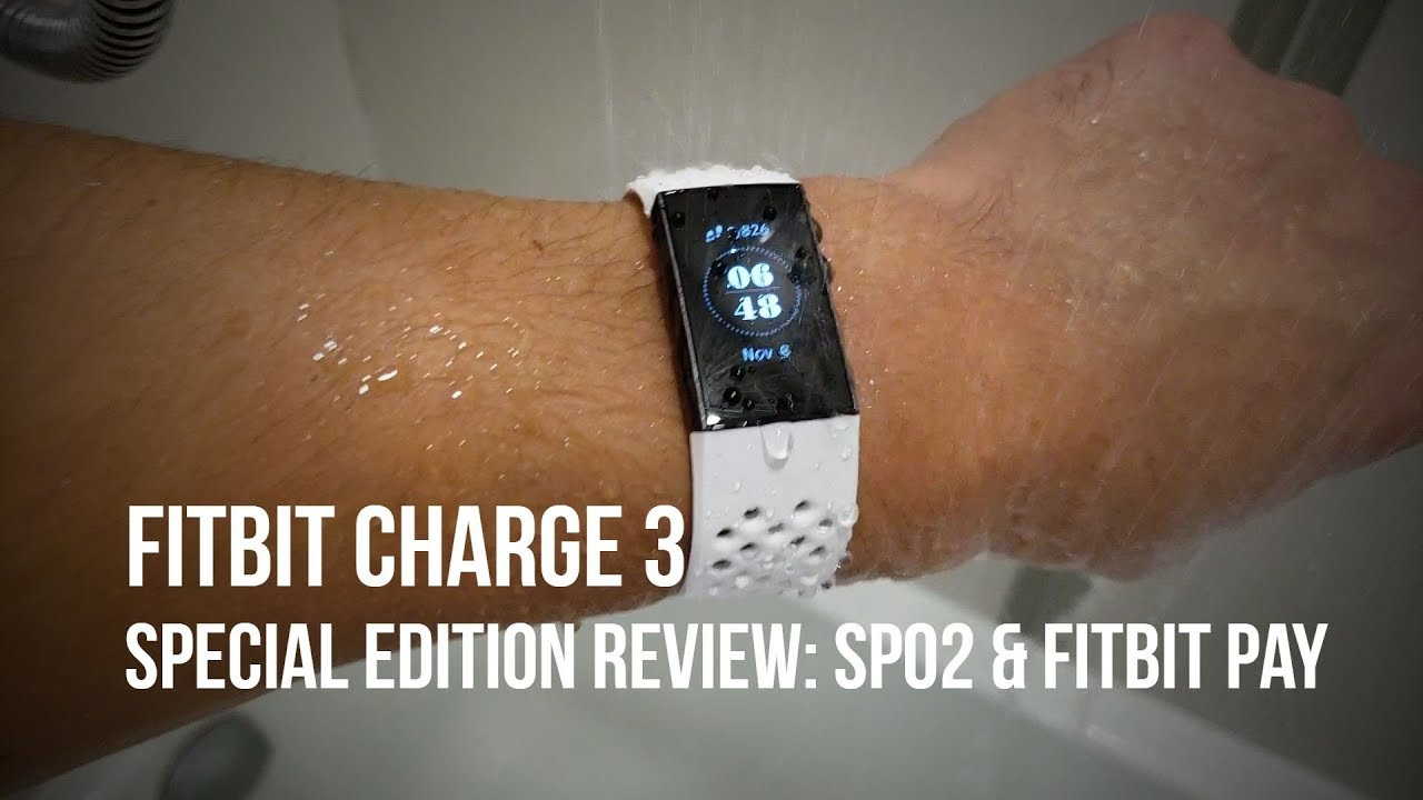 Fitbit Charge 3 Special Edition Review - Fitness Tracker or Smartwatch?
