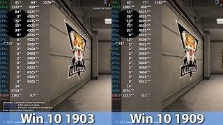 Windows 10 1903 vs 1909 Update Comparison