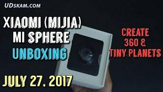 Xiaomi Mijia مي مجال 360 3.5 ك الكاميرا علبته - خلق الكواكب صغيرة!