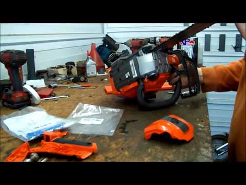 Skylotec Klettergurt Yamaha : Husqvarna t540xp first use