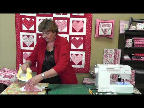 Breast cancer quilt blocks