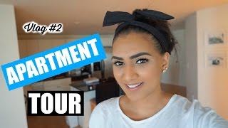 Apartment Tour + Cleaning Day (vlog #2)