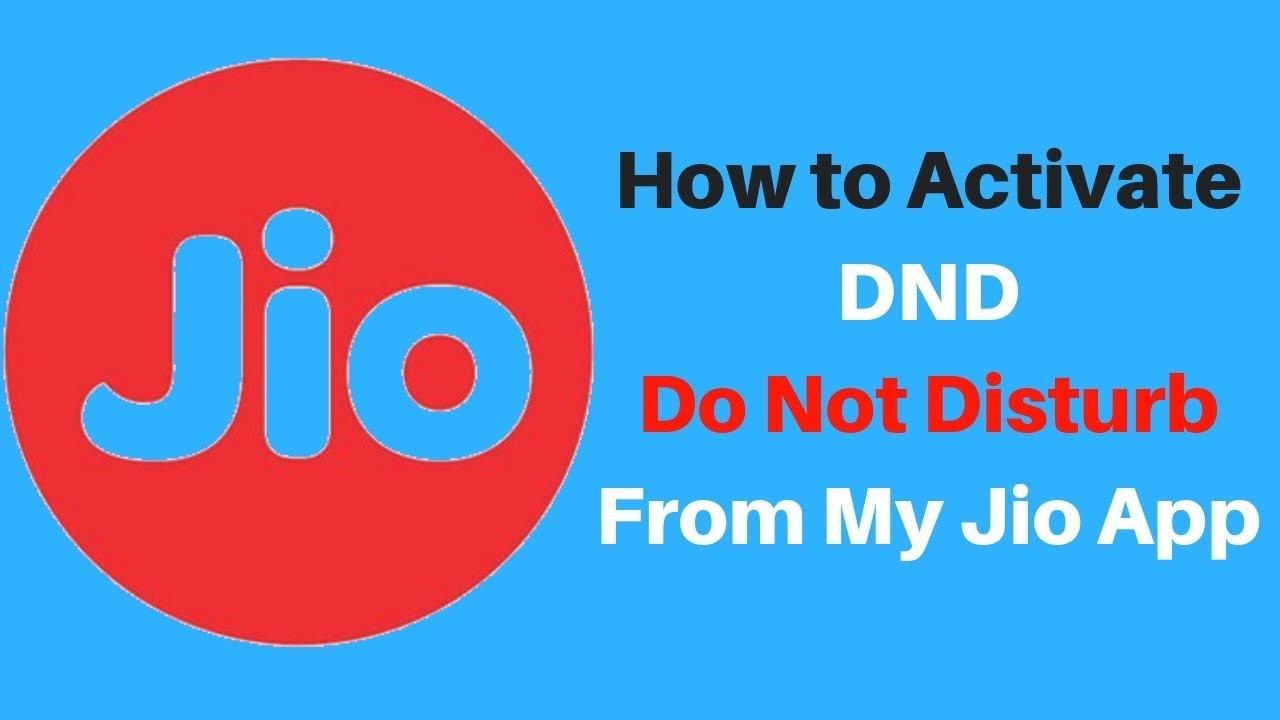 Image result for jio dnd