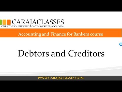Debtors and Creditors