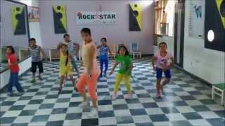 nach meri jaan nach abcd 2 - kids dance steps by rockstar academy chandigarh