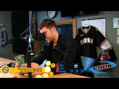 Josh Jacobs on the Wednesday Morning Buzz