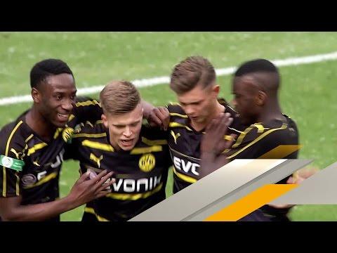 BVB-Kapitän dreht U19-Halbfinale gegen Wolfsburg | SPORT1