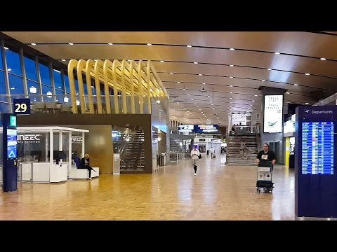 Inside Helsinki Vantaa Airport, Finland