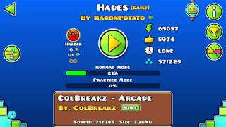GD Daily level ; Hades by BaconPotato Video