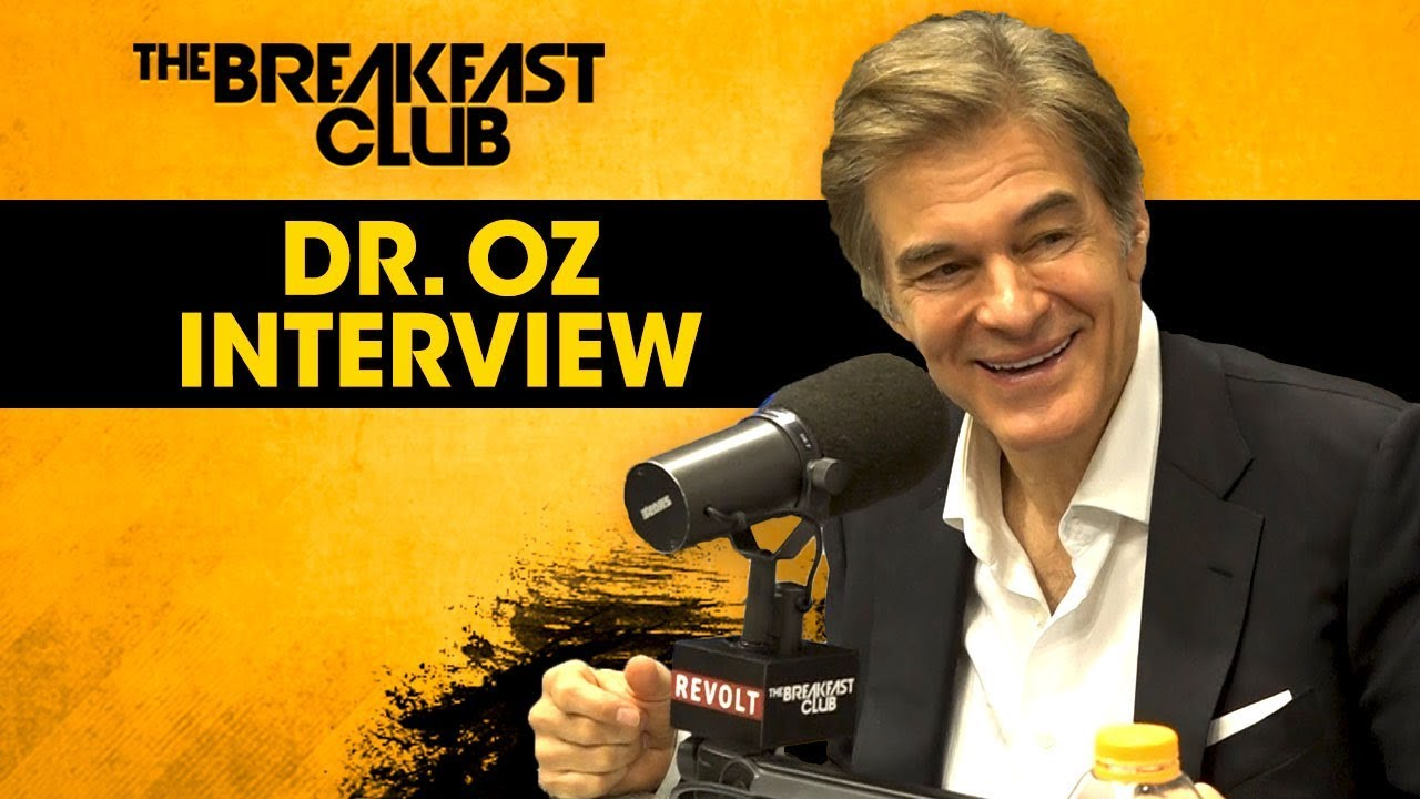Dr. Oz Talks CBD Benefits, Hallucinogens & Why You Shouldn't Wash Your Chicken