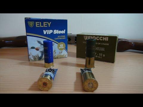 Steel vs Lead Shotgun Cartridges