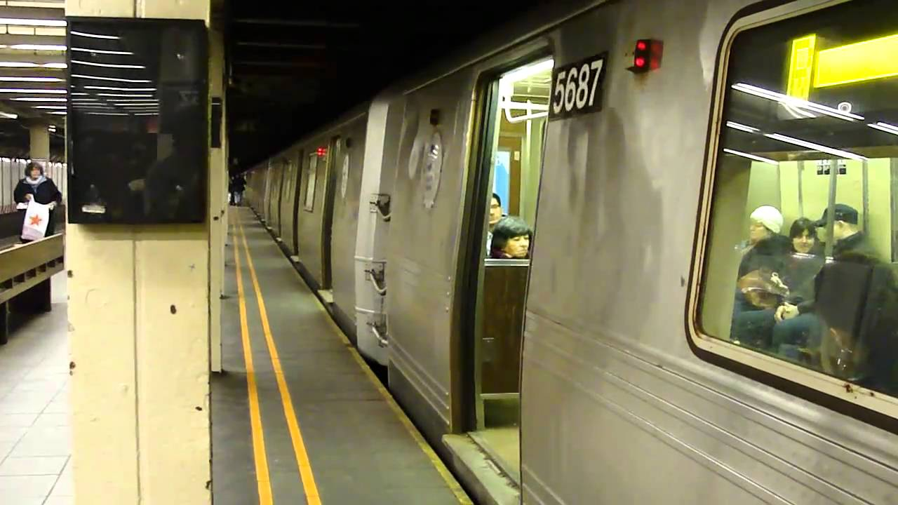 BMT Broadway Line R46 R Train At 57th St 7th Ave Queens Bound Weekend