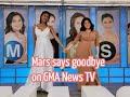 Mars Says Goodbye on GMA News TV