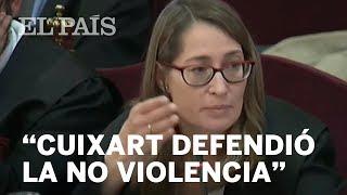 Marina Roig en el juicio del Proces