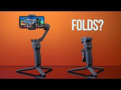 DJI Osmo Mobile 3 —The Folding Smartphone Gimbal