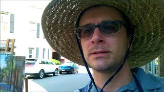 Kyle Buckland Abandoned Town  Coalwood/Welch West Virginia Plein Air painting trip part 2