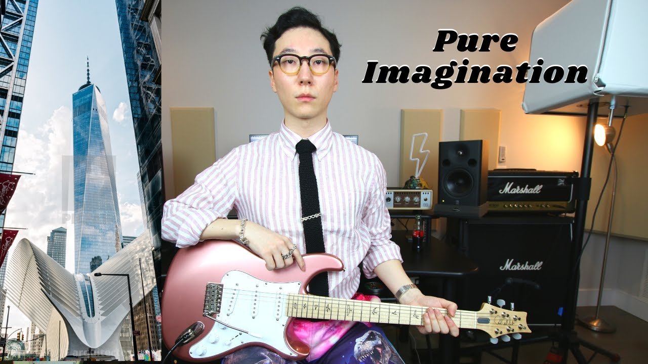 Pure Imagination (Ready Player One version) on guitar.