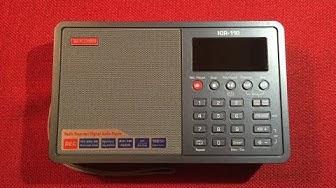 MW DX Master! Tecsun ICR-110 AM FM Portable Radio & Recorder Review