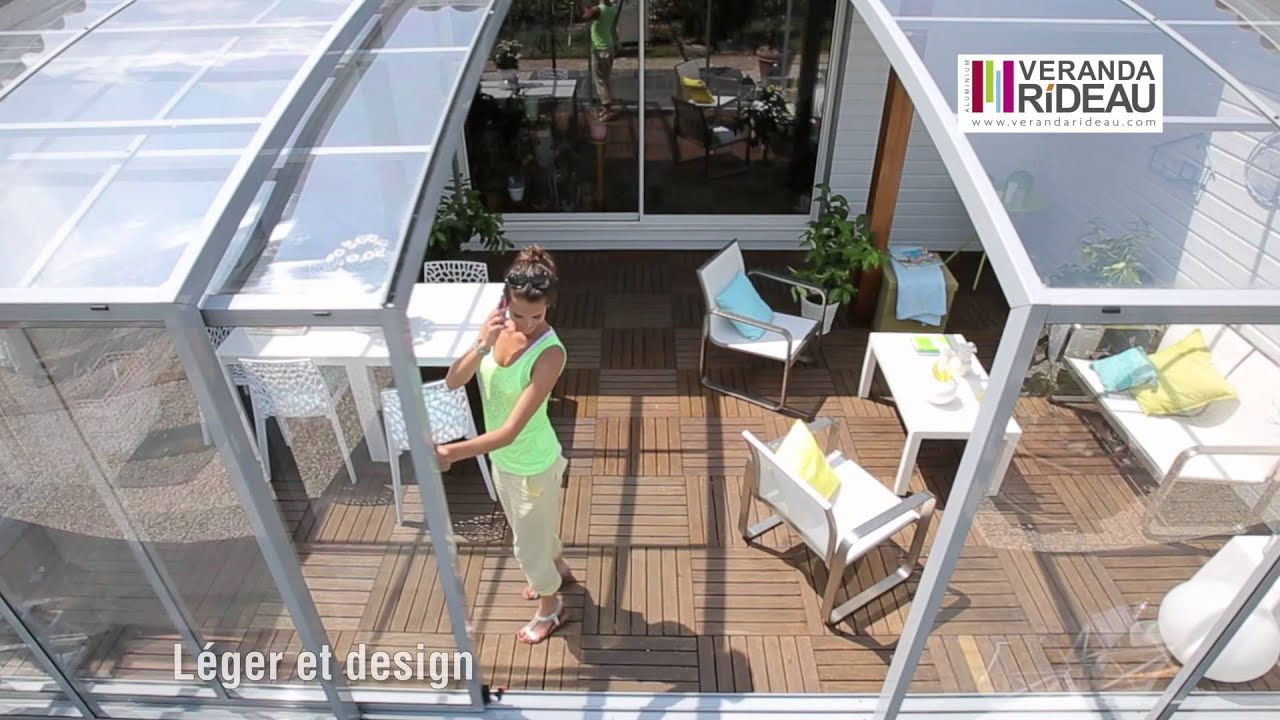 abri de terrasse telescopik youtube. Black Bedroom Furniture Sets. Home Design Ideas