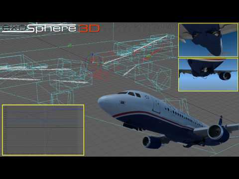 Aircraft Rigging, Visualization and Data Integration (Promotional Video)