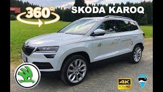 (VR) Skoda Karoq - Testdrive 360° (4K)
