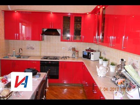 Наша кухня после 9 лет работы , смена фасадов.  фильм - 6.