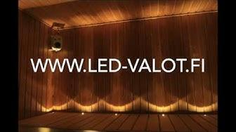 LED valot saunaan - saunaLEDit edullisesti!
