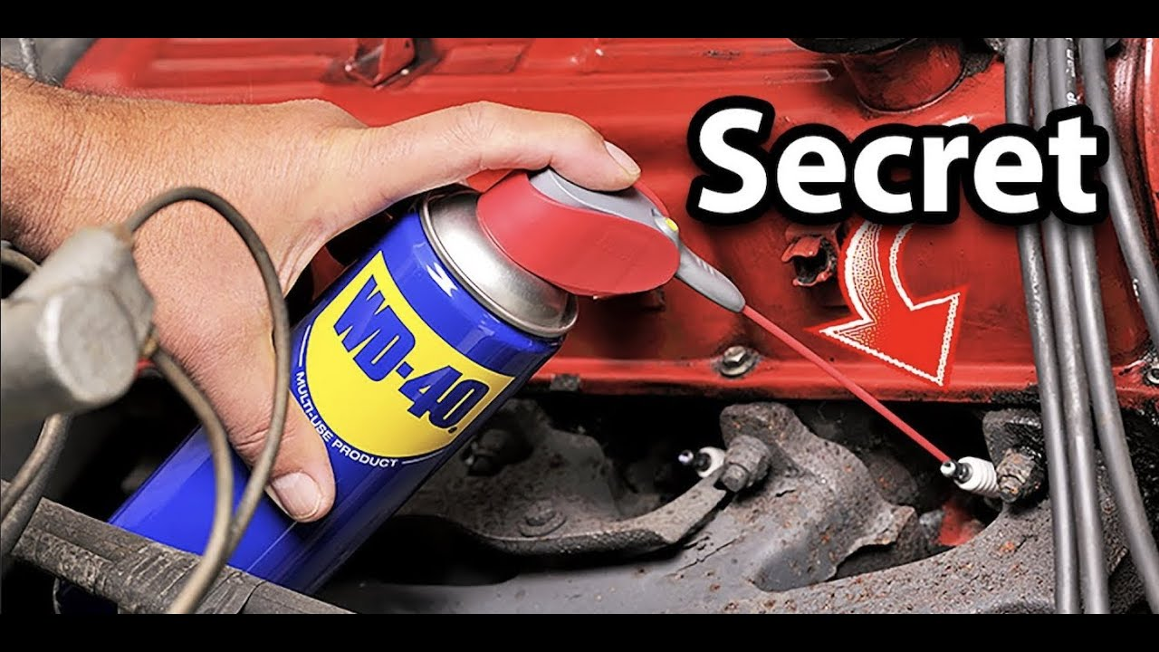 Doing This With WD40 Will Save You Thousands in Car Repairs