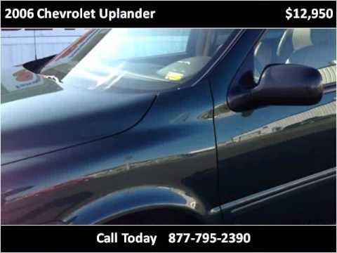2006 Chevrolet Uplander Used Cars Rolla MO