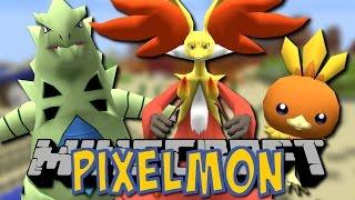 Das PIXELMON-ABENTEUER beginnt!! - Minecraft Pixelmon Mod