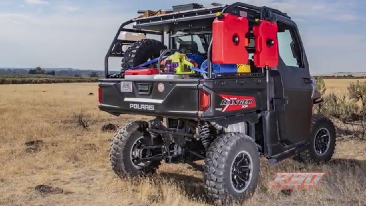 polaris ranger utility cargo rack razorback offroad