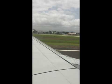Spicejet 514 takeoff from Pune B7379er