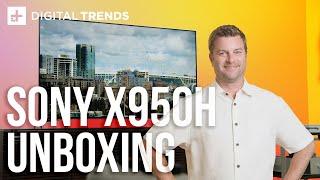 Sony X950H 4K HDR TV Unboxing, Setup, Impressions