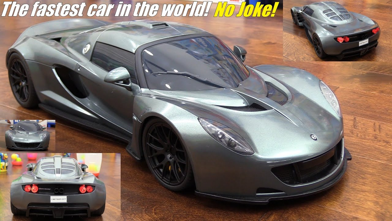 Hobby Toys Rc Car Bashing 1 8 Scale Hennessey Venom Gt Hypercar